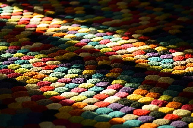 Dywany z butelek plastikowych